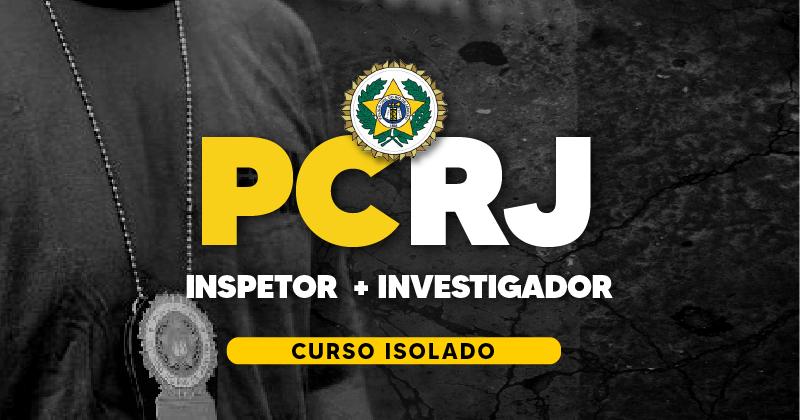 CURSO POLÍCIA CIVIL RJ (Inspetor + Investigador)