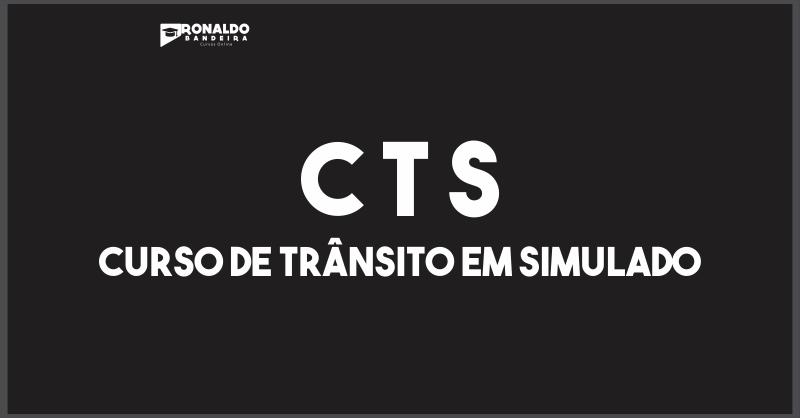 C T S - CURSO DE TRÂNSITO EM SIMULADOS.