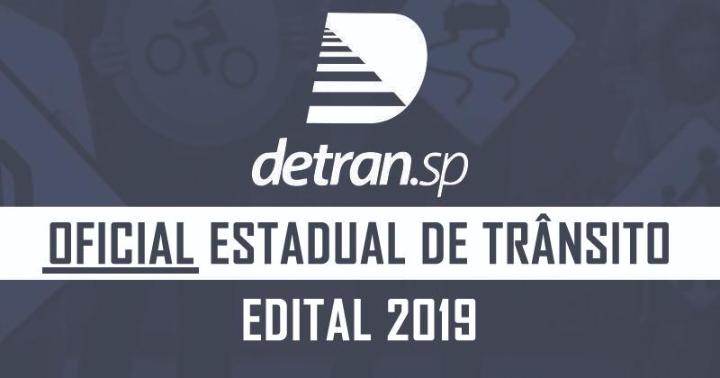 DETRAN SP - OFICIAL ESTADUAL DE TRÂNSITO  - PÓS EDITAL