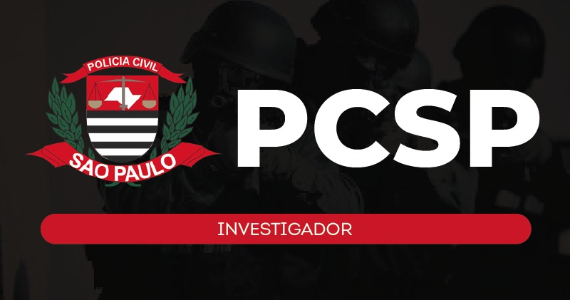 PC SP - INVESTIGADOR - ESTÚDIO