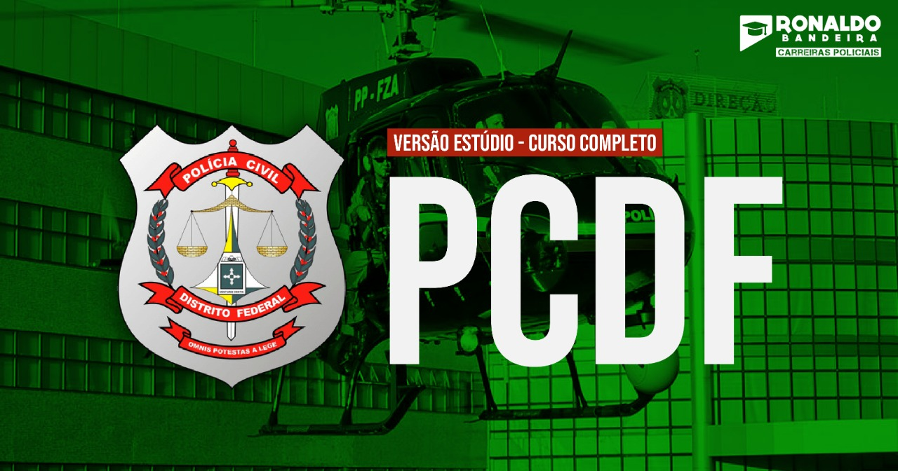 Polícia Civil do DF - Agente de Polícia - ESTÚDIO