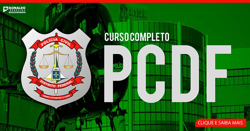 PC DF [AGENTE] - AO VIVO + GRAVADA