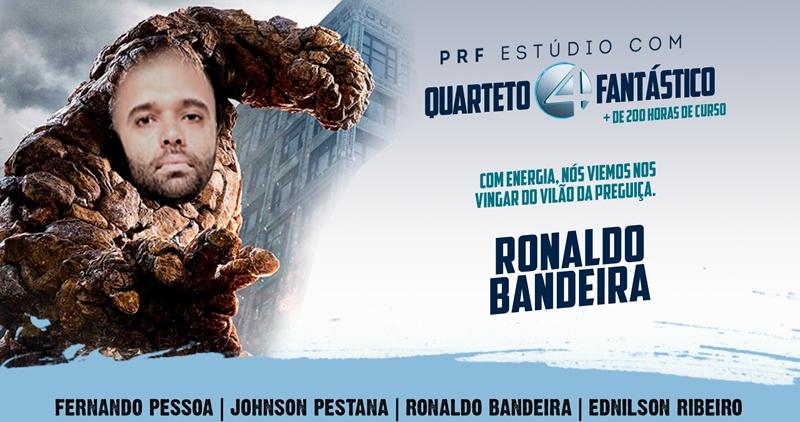 PRF Estúdio com Quarteto Fantástico
