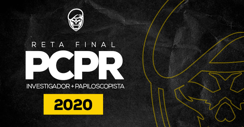 PC PR (Investigador + Papiloscopista) - RETA FINAL (Ao vivo)